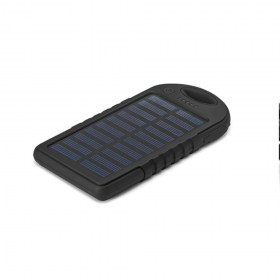 Brindes Personalizados - Power Bank Solar Com Led 2000 Mah