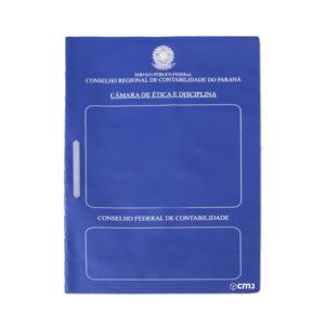 Brindes Personalizados - Capa para Organização de Documentos Personalizada