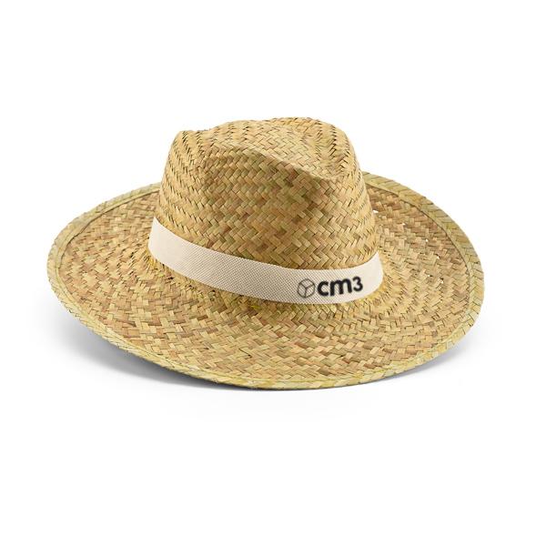Brindes Personalizados - Chapéu Panamá Palha Natural