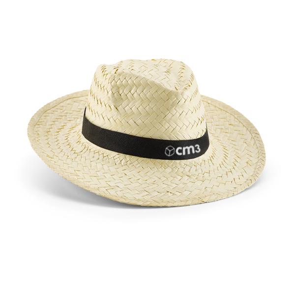 Brindes Personalizados - Chapéu Panamá Palha Branca