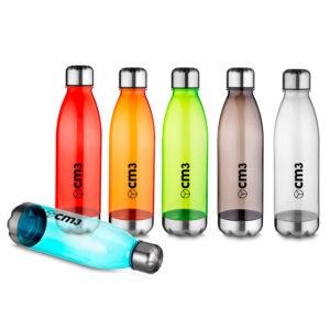 Brindes Personalizados - Garrafa Plástica Translúcida 700 ml