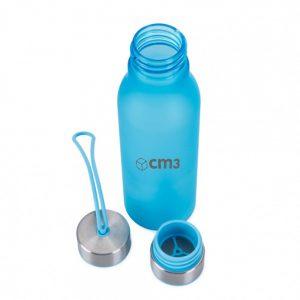 Brindes Personalizados - Garrafa Semi Transparente 600ml