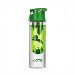 Brindes Personalizados - Garrafa Transparente 750ml com Infusor