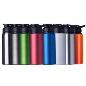 Brindes Personalizados - Garrafa de Alumínio Com Alça 650 ml