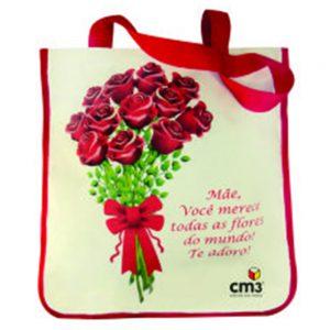 Brindes Personalizados - Sacola Flores