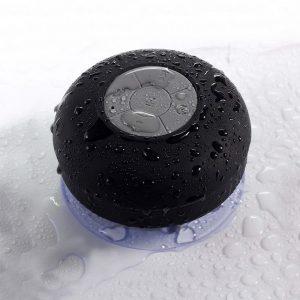 Brindes Personalizados - Caixa de Som a Prova d'água com Ventosa