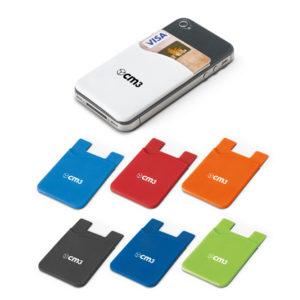 Brindes Personalizados - Porta Cartão para Celular Color Personalizada