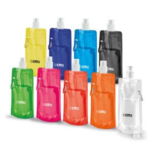 Brindes Personalizados - Squeeze Dobrável 460ml