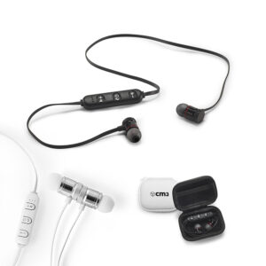 Brindes Personalizados - Fone de Ouvido Bluetooth Personalizado