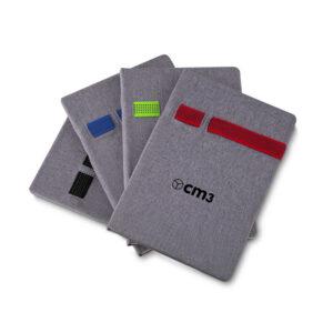 Brindes Personalizados - Caderno de Anotações c/ Elástico L14,0/H21,0